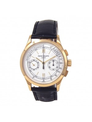 Patek Philippe Complication Chronograph 18k Yellow Gold Manual Watch 5170J-001