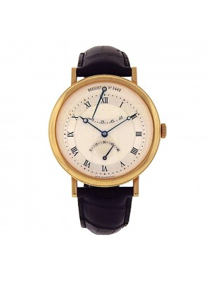 Breguet Classique 5207BA/12/9V6 18k Yellow Gold Automatic Silver Men's Watch