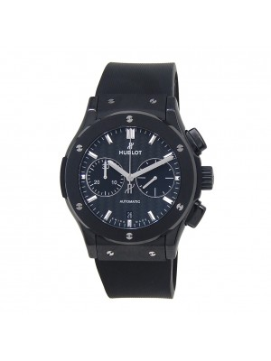 Hublot Classic Fusion Chronograph Black Ceramic Automatic Mens Watch 521CM1771RX