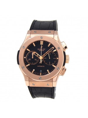 Hublot Classic Fusion 18k Rose Gold Automatic Men's Watch 521.OX.1180.LR