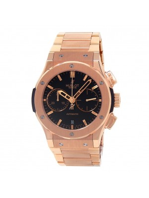 Hublot Classic Fusion Chronograph 18k RG Men's Watch Automatic 521.OX.1180.OX