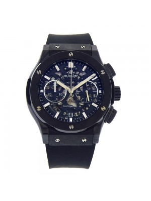 Hublot Classic Fusion Aerofusion Black Ceramic Skeleton Watch 525.CM.0170.RX