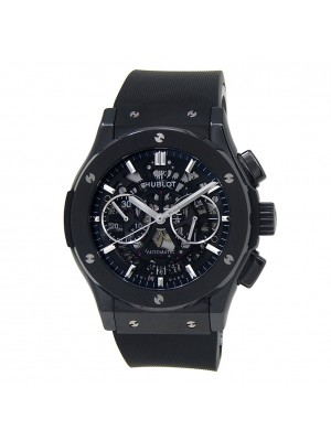 Hublot Classic Fusion Aerofusion Black Ceramic Auto Men's Watch 525.CM.0170.RX