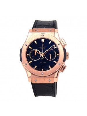 Hublot Classic Fusion 18k Rose Gold Automatic Chronograph Watch 541.OX.1181.LR
