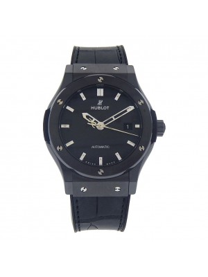 Hublot Classic Fusion Black Ceramic Automatic Mens Watch 542CM1770RX Black Magic