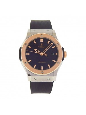 Hublot Classic Fusion 542.NO.1180.RXTitanium 18k Rose Gold BezelMen's Watch