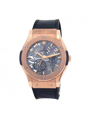 Hublot Classic Fusion Classico Ultra Thin 18k R/G Manual Watch 545.OX.0180.LR