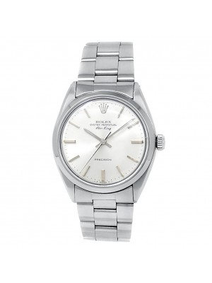 Rolex Vintage Air-King Stainless Steel Oyster Automatic Silver Men's Watch 5500
