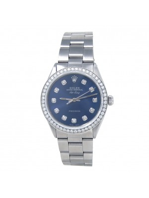 Rolex Air-King (5 Serial) Stainless Steel Automatic Mid-Size Watch 5500