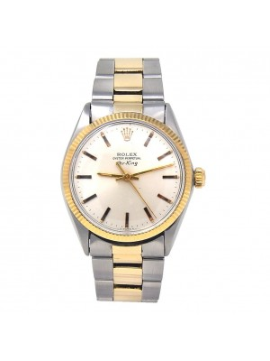 Rolex Air-King 14k Yellow Gold & Stainless Steel Automatic Men's Watch 5501