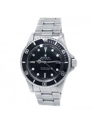 Rolex Submariner Stainless Steel Oyster Automatic Black Men's Watch 5513