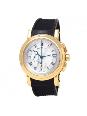 Breguet Marine Chronograph 18K Yellow Gold Automatic Men's Watch 5827