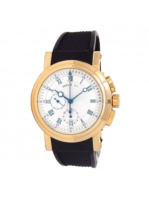 Breguet Marine Chronograph 18k Yellow Gold Automatic Men's Watch 5827BA/12/5ZU