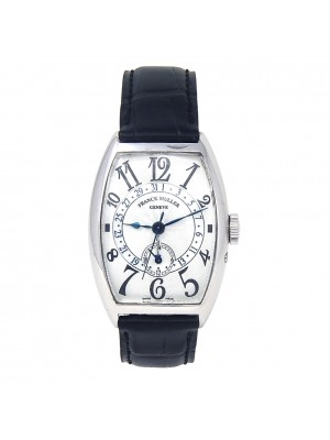 Franck Muller Master Calendar 18k White Gold Automatic Men's Watch 5850 Q 24