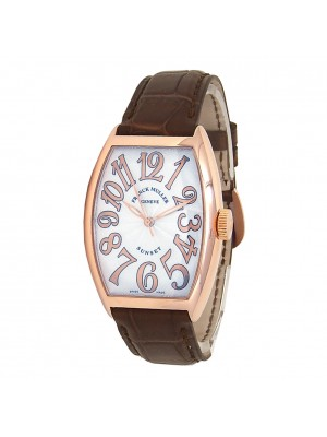 Franck Muller Sunset 18k Rose Gold Automatic Mens Watch 5850 SC