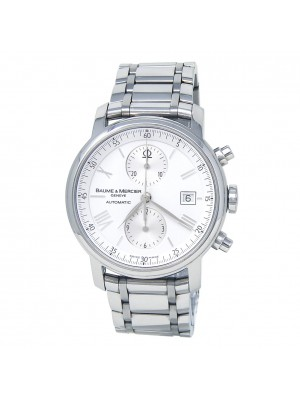 Baume & Mercier Classima XL Stainless Steel Chronograph Automatic Watch 65591