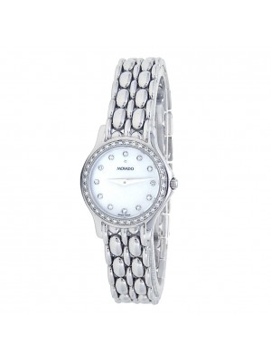 Movado 14k White Gold Quartz Ladies Watch 66259804