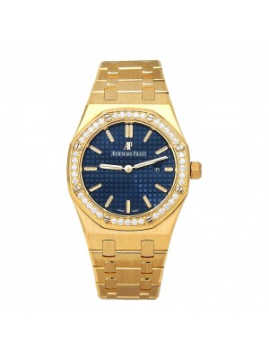 Audemars Piguet Royal Oak 18k Yellow Gold Quartz Ladies Watch 67651BAZZ1261BA02