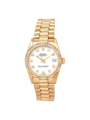 Rolex Datejust (E Serial) 18k Yellow Gold Automatic Unisex Watch 68258