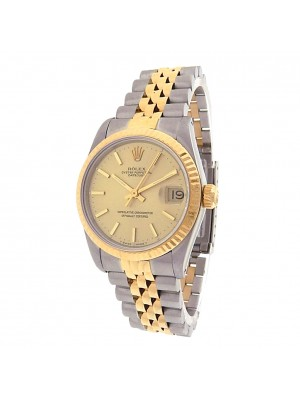 Rolex Datejust 68273 Stainless Steel 18k Gold Jubilee Midsize Automatic Watch