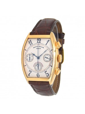 Franck Muller Cintree Curvex 18k Yellow Gold Automatic Men's Watch 6850 CC
