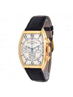 Franck Muller Cintree Curvex 18k Yellow Gold Automatic Men's Watch 6850 CC AT