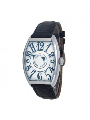 Franck Muller Casablanca CintreeCurvex Double Mystery 18k White Gold Auto 6850DM