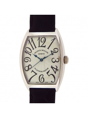 Franck Muller Cintree Curvex 18K White Gold Automatic Men's Watch 6850 SC