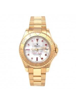 Rolex Yacht-Master (U Serial) 18k Yellow Gold Automatic Men's Watch 68628