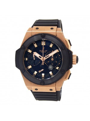 Hublot King Power Split Second 18k Rose Gold Automatic Mens Watch 709.OM.1780.RX