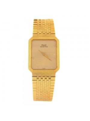 Piaget Vintage 18k Yellow Gold Swiss Quartz Ladies Watch 7141 C 4