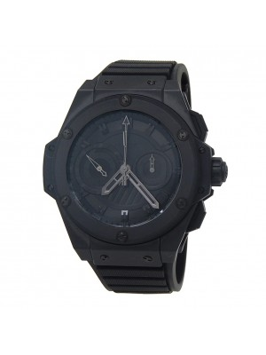 Hublot King Power Foudroyante All Black Ceramic Automatic Watch 715.CI.1110.RX