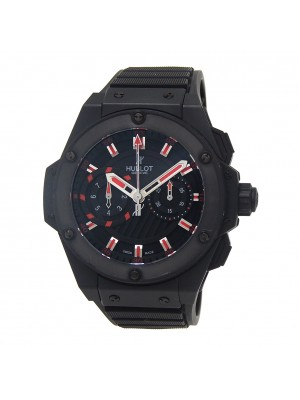 Hublot King Power Foudroyante Magic Black PVD Ceramic Auto Watch 715.CI.1123.RX