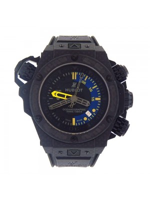 Hublot King Power Oceanographic Black Carbon Fiber Automatic Watch 732QX.1140.RX