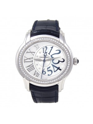 Audemars Piguet Ladies Millenary 18k White Gold Automatic 77301BC.ZZ.D301CR.01