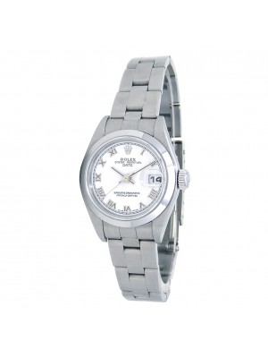 Rolex Date (F Serial) Stainless Steel Women's Watch Automatic 79160