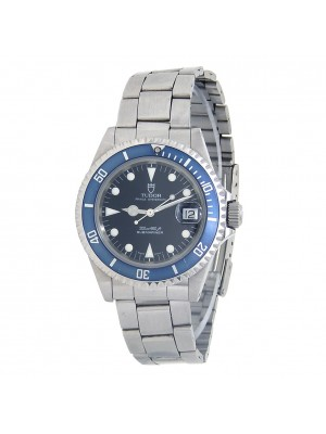 Tudor Prince Date Submariner Stainless Steel Automatic Men's Watch 79190