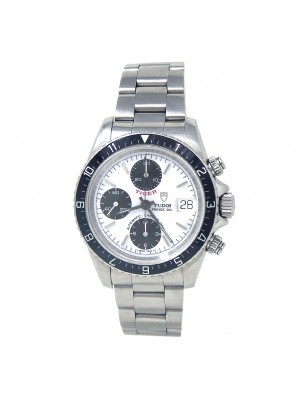 Tudor Prince Date Tiger Chronograph Stainless Steel Automatic Men's Watch 79270