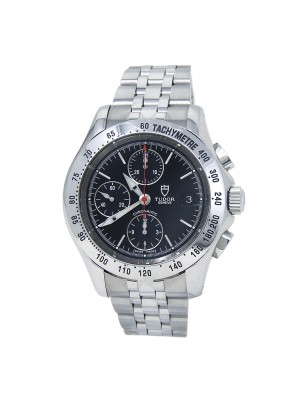 Tudor Chronoautic Stainless Steel Automatic Men's Watch 79380