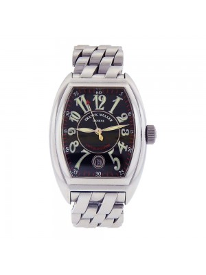 Franck Muller Conquistador King Stainless Steel Automatic Men's Watch 8002 SC
