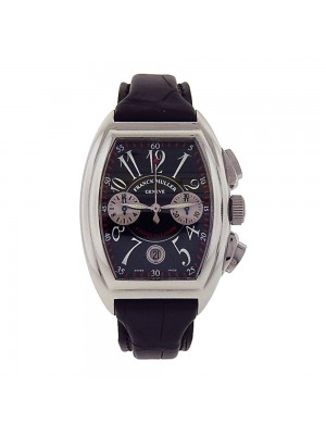 Franck Muller Conquistador Stainless Steel Automatic Chronograph Watch 8005 CC