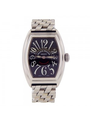 Franck Muller Conquistador Stainless Steel Quartz Ladies Watch 8005 L QZ