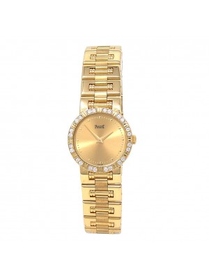 Piaget Dancer 18k Yellow Gold Swiss Quartz Ladies Watch 80564 K81