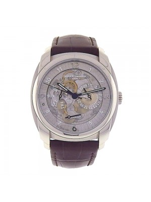 Vacheron Constantin Quai de l'Ile Day Date Palladium Skeleton Men's Watch 85050