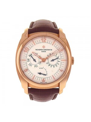 Vacheron Constantin Quai de l'Ile Day Date 18K Rose Gold Watch 85050/000-I0P29