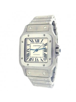 Cartier Santos Galbee Extra Large W20098D6 Stainless Steel Automatic Watch