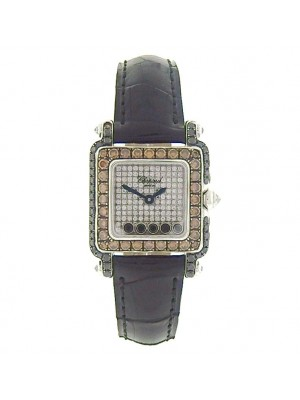 Chopard Happy Sport 276852-1011 Diamond Pave Watch