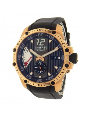 Chopard Superfast Power Control 161291-5001 Rose Gold Rubber Black Men's Watch
