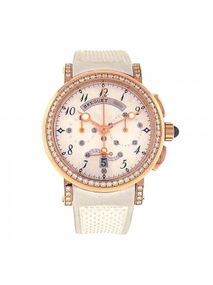 Breguet Marine Chronograph 18K Rose Gold Automatic Unisex Watch 8828BR5D586DD00