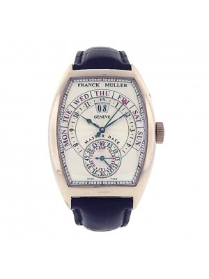 Franck Muller Master Day Date 18k White Gold Automatic Men's Watch 8880 GD